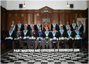 Centenary Year Officers of Redwood