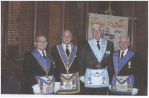 Passing the Past Master Jewel in 1996