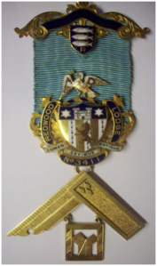 A Past Masters Jewel of Redwood Lodge 3411