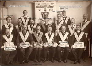 Installation 1918 Founders and PM's