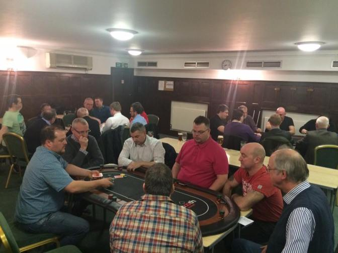 Members Of Redwood Support The Foundation Clubs Poker Night