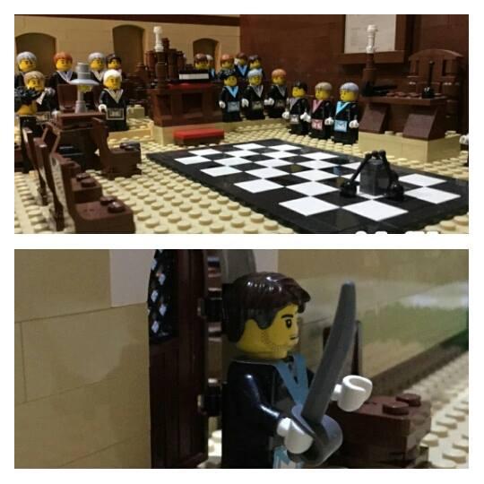 Masonry Meets Lego