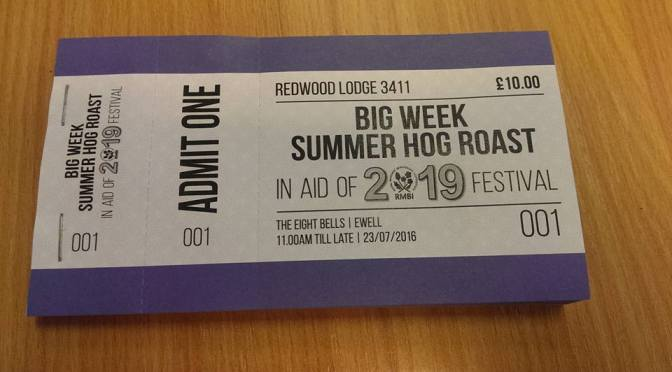 REDWOOD CHARITY HOG ROAST 23RD OF JULY
